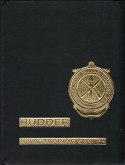 1981 Training Unit K109 Orlando USNTC Recruit Yearbook Roster - The Rudder