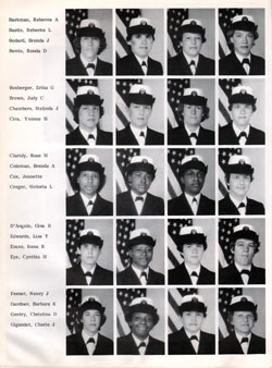 Navy Boot Camp Orlando Yearbook 1982 Company K024 Gg