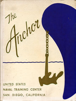 Front Cover, Navy Boot Camp Book 1960 Company 368 The Anchor
