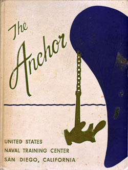 Front Cover, Navy Boot Camp Book 1960 Company 502 The Anchor