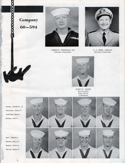Company 60-594 Recruits Page One