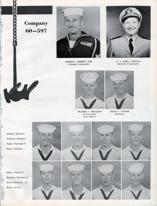 Company 60-597 Recruits Page One