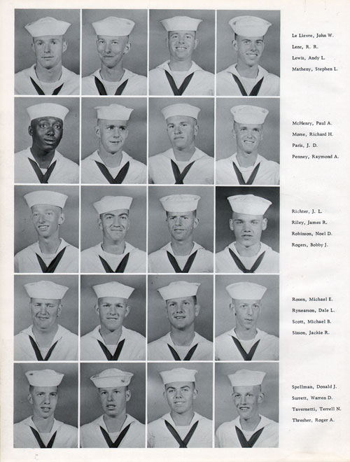 Company 60-597 Recruits Page Four