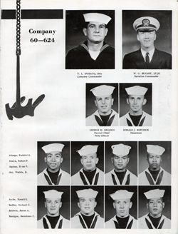 Recruits from Company 60-624 San Diego USNTC - Page 1