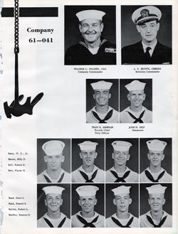 Company 61-041 Recruits Page One