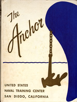 Front Cover, Navy Boot Camp Book 1962 Company 147 The Anchor
