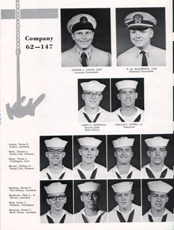 Company 62-147 Recruits Page One