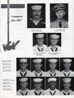 Company 62-587 Recruits Page One