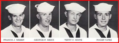 Row 19: Francis J. Weber, George R. Weiss, Terry C. White, Roger Yates