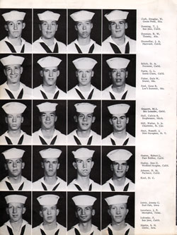 Navy Boot Camp San Diego Yearbook 1964 Company 102 Gg