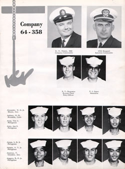 Company 64-358 Recruits Page One