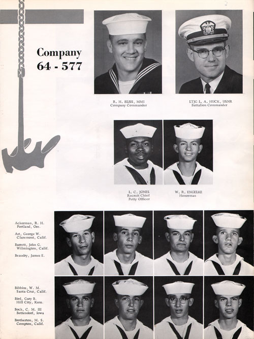 Company 1964-577 Page One