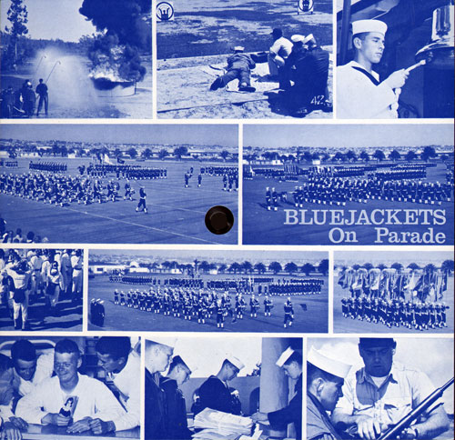 Bluejacket on Parade Record Sleeve Front