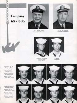Company 1965-505 Page One