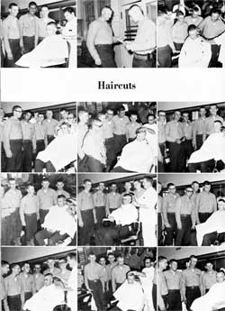 Company 66-237 Recruits Get Haircuts