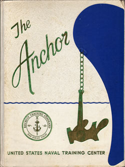 Front Cover, Navy Boot Camp Book 1967 Company 618 The Anchor
