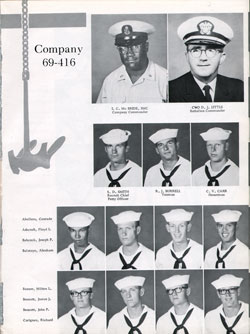 Company 69-416 Recruits Page One
