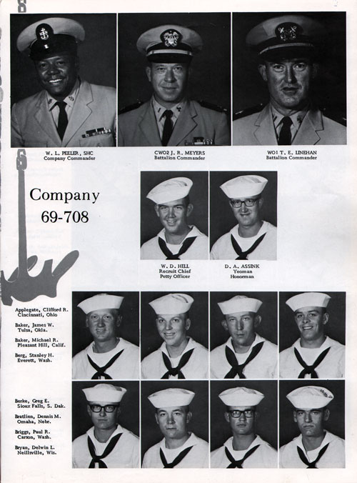 Company 69-708 Recruits Page One