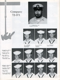 Company 72-371 Recruits Page One