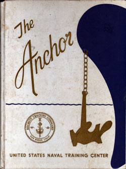 Front Cover, Navy Boot Camp Book 1973 Company 139 The Anchor