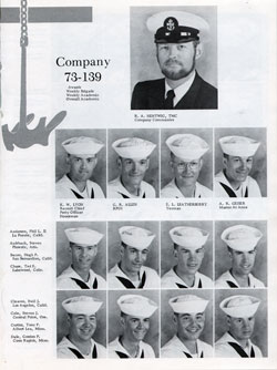 Company 73-139 Recruits Page One