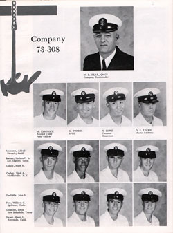 Company 73-308 Recruits Page One