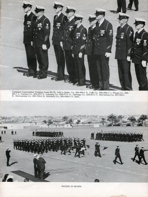 Company Commanders Training Group 05-76; Passing in Review