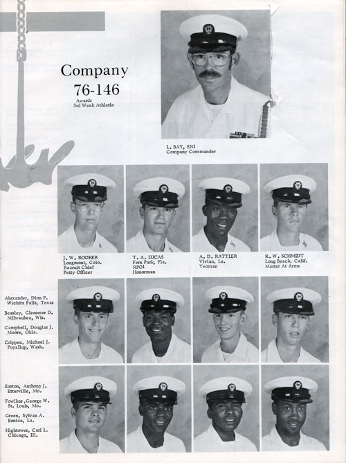 Company 76-146 Recruits Page One