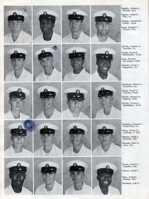 Company 76-146 Recruits Page Two