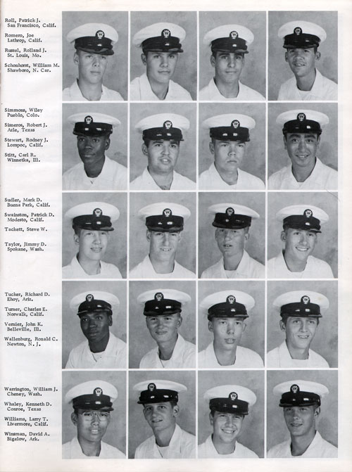 Company 76-146 Recruits Page Three