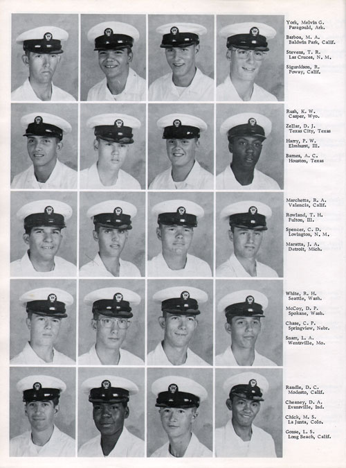 Company 76-146 Recruits Page Four