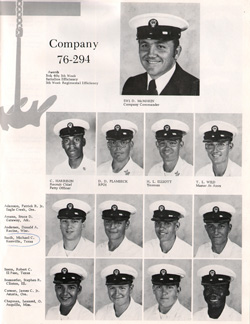 Company 76-294 Recruits Page One