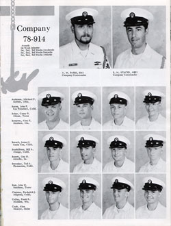 Company 78-914 Recruits Page One