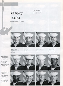 Company 84-054 Recruits Page One