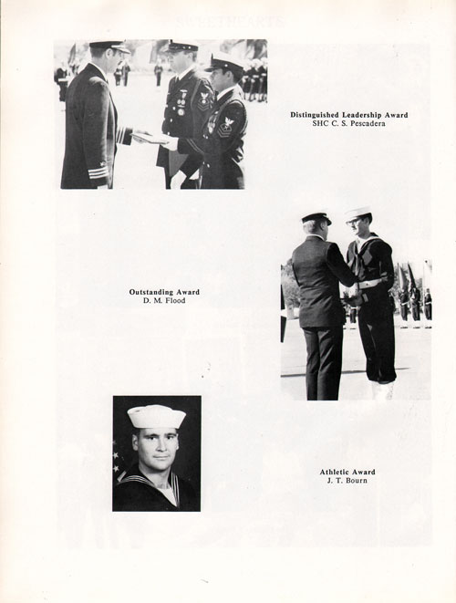Company 87-003 Recruit Honors Page 1