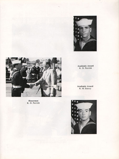 Company 87-003 Recruit Honors Page 2
