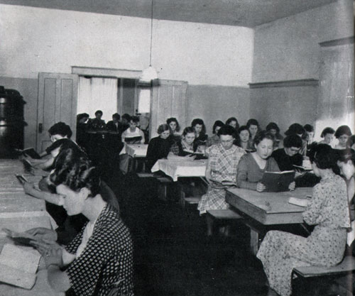 Photo 19: Study Hour In A South Dakota High School Dormitory