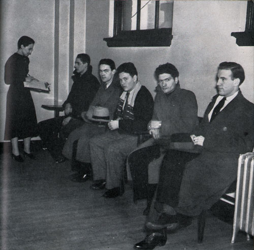 Photo 20: Young Men At The Employment Office