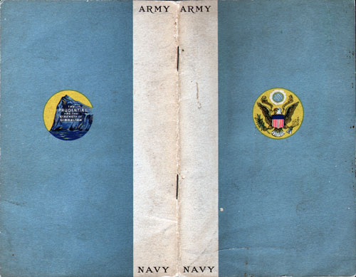 World War I Army / Navy Recruitment Brochure