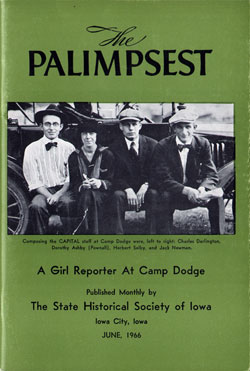 The Palmpsest - Girl Reporter at Camp Dodge