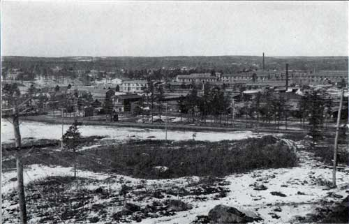 Looking North from Boulder Hill - Baldwin's And the 301st Light Field Infantry