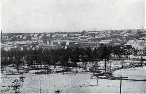A Bird's-Eye View of Camp Devens - Looking West from Boulder Hill