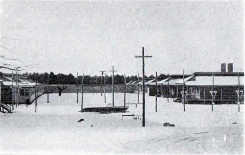 Barracks, Base Hospital - Camp Devens