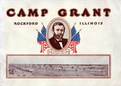 Camp Grant Pictorial History Brochure from 1917