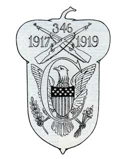 Patch Insignia of the 346th Infantry, Company C