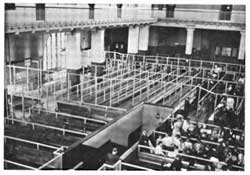 Main Inspection Room at Ellis Island