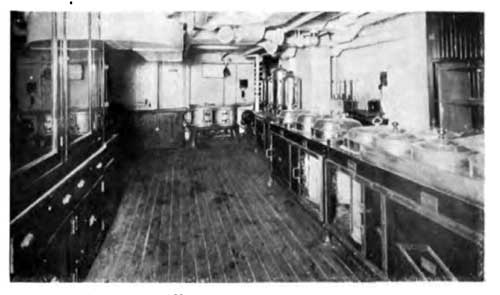 View of the Kitchen on the SS Lapland