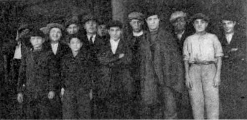 Photo 38: A Group of Stowaways being detained at Ellis Island