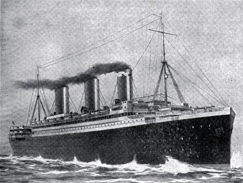 The Steamship Resolute, 20,000 Tons Gross, Built in 1920