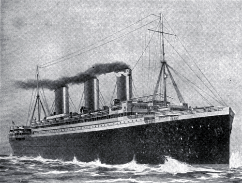 The Steamship Resolute of the United American Lines